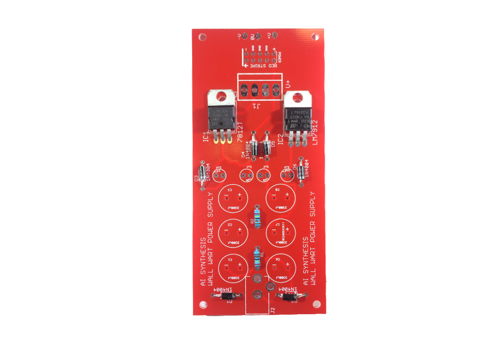 DIY Eurorack Power Supply How To Build Guide on