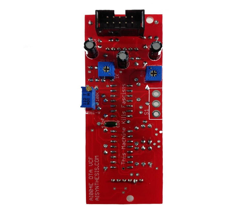 How to Build the AI004 DIY Eurorack OTA Filter MS 20 Filter